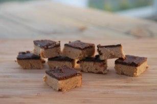 raw food rutor med nötter och choklad